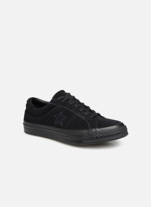 Baskets Converse One Star OG Suede Ox M Noir vue détail/paire