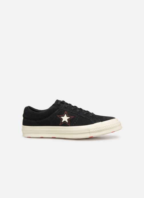 Deportivas Converse One Star Love in The Details Ox Negro vistra trasera