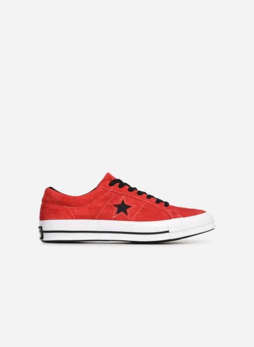 Sneakers Converse One Star Dark Star Vintage Suede Ox Rood achterkant