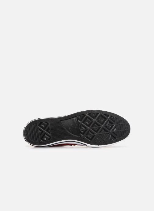 Sneaker Converse One Star Dark Star Vintage Suede Ox rot ansicht von oben