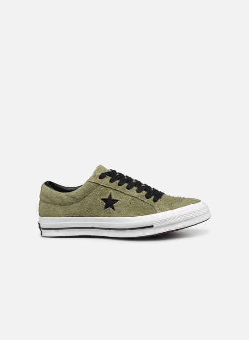 Trainers Converse One Star Dark Star Vintage Suede Ox Green back view