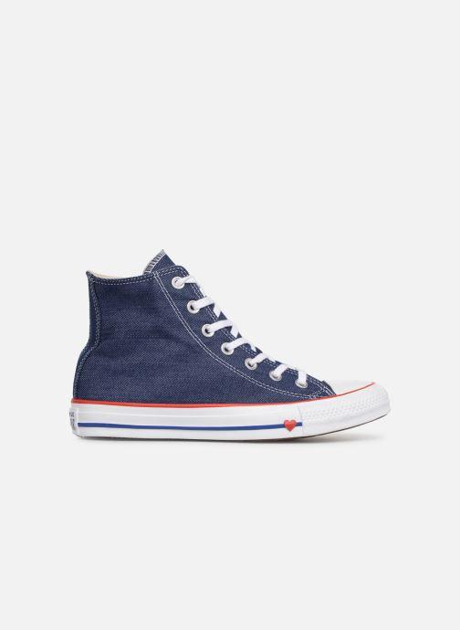 Sneaker Converse Chuck Taylor All Star Sucker for Love Hi blau ansicht von hinten