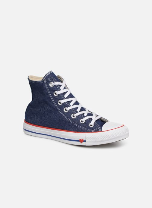 Sneaker Converse Chuck Taylor All Star Sucker for Love Hi blau detaillierte ansicht/modell
