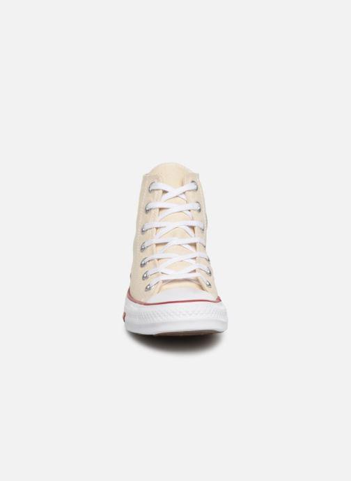 Baskets Converse Chuck Taylor All Star Sucker for Love Hi Beige vue portées chaussures