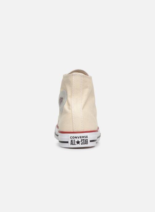 Sneakers Converse Chuck Taylor All Star Sucker for Love Hi Beige rechts