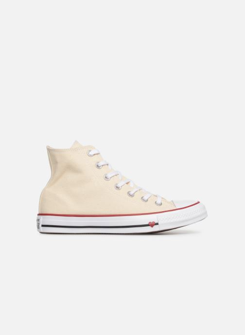 Baskets Converse Chuck Taylor All Star Sucker for Love Hi Beige vue derrière
