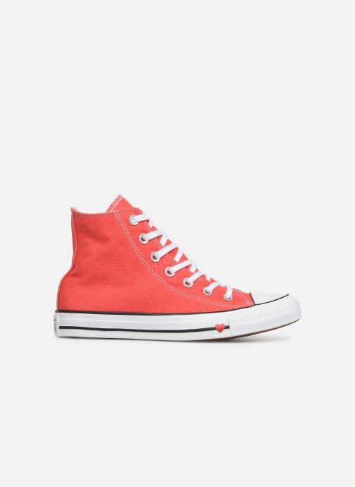 Sneaker Converse Chuck Taylor All Star Sucker for Love Hi rot ansicht von hinten