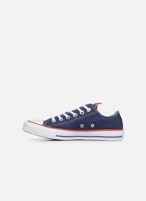 Sneaker Converse Chuck Taylor All Star Sucker for Love Ox blau ansicht von vorne