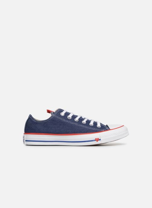 Sneaker Converse Chuck Taylor All Star Sucker for Love Ox blau ansicht von hinten
