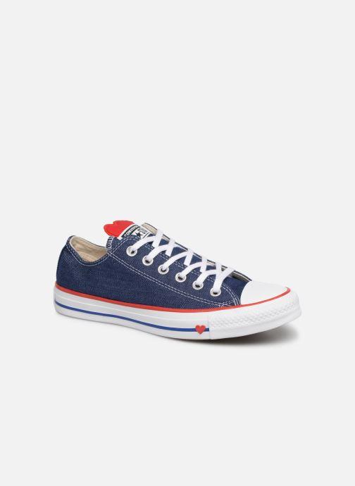8e12efc159c Sneakers Converse Chuck Taylor All Star Sucker for Love Ox Blå detaljeret  billede af skoene