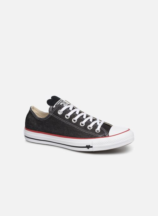 Baskets Converse Chuck Taylor All Star Sucker for Love Ox Noir vue détail/paire