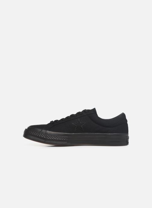 Trainers Converse One Star Canvas Seasonal Color Ox Black front view
