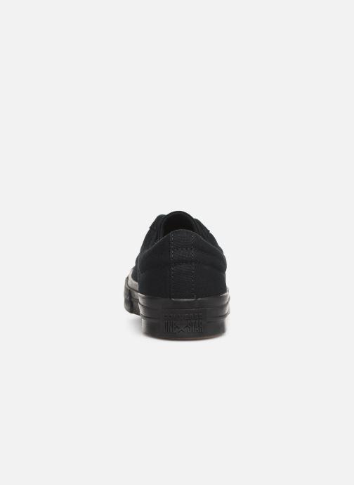 Sneaker Converse One Star Canvas Seasonal Color Ox schwarz ansicht von rechts