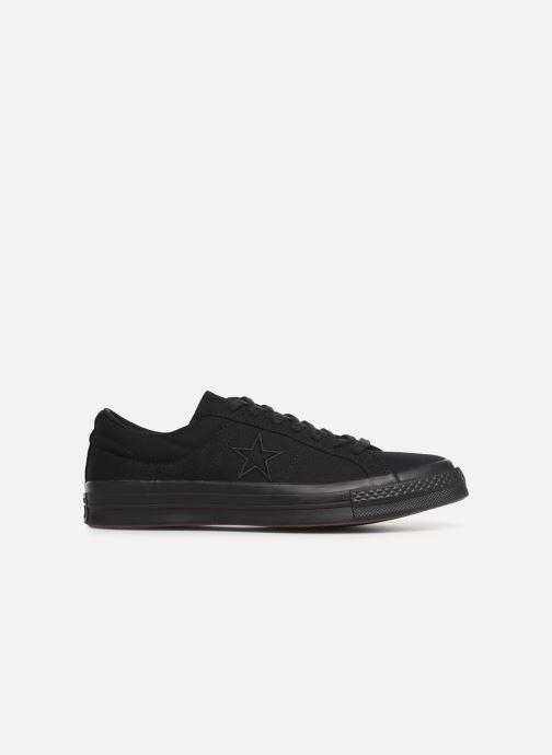 Sneaker Converse One Star Canvas Seasonal Color Ox schwarz ansicht von hinten