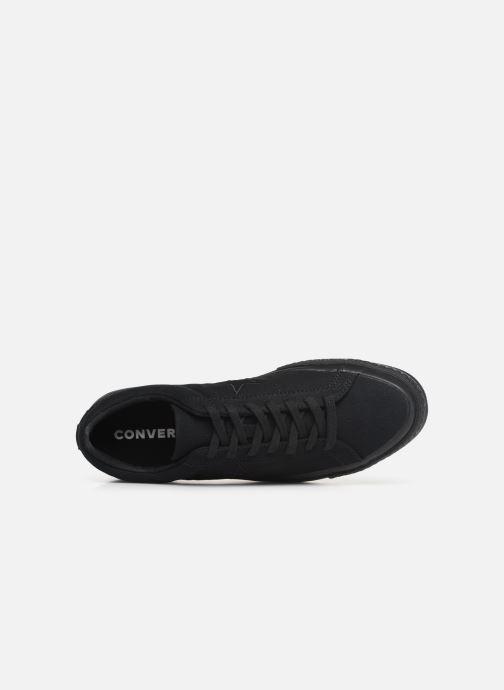 Sneaker Converse One Star Canvas Seasonal Color Ox schwarz ansicht von links