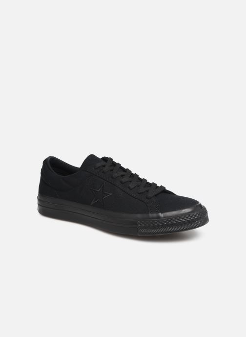 Trainers Converse One Star Canvas Seasonal Color Ox Black detailed view/ Pair view