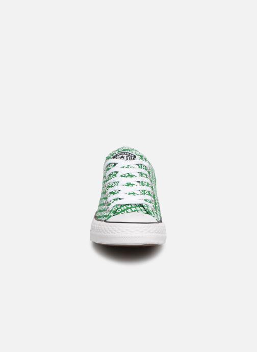 Sneaker Converse Chuck Taylor All Star Wordmark 2.0 Ox W grün schuhe getragen
