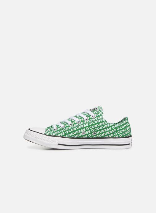 Sneaker Converse Chuck Taylor All Star Wordmark 2.0 Ox W grün ansicht von vorne