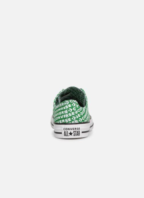 Sneaker Converse Chuck Taylor All Star Wordmark 2.0 Ox W grün ansicht von rechts