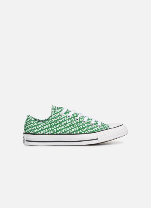 Sneaker Converse Chuck Taylor All Star Wordmark 2.0 Ox W grün ansicht von hinten