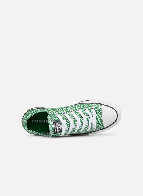Sneaker Converse Chuck Taylor All Star Wordmark 2.0 Ox W grün ansicht von links