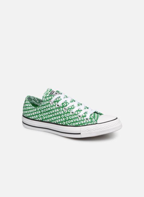 faafb7212d3 Sneakers Converse Chuck Taylor All Star Wordmark 2.0 Ox W Grön detaljerad  bild på paret