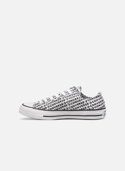 Baskets Converse Chuck Taylor All Star Wordmark 2.0 Ox W Noir vue face