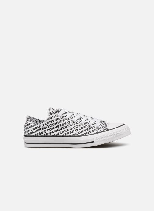 Baskets Converse Chuck Taylor All Star Wordmark 2.0 Ox W Noir vue derrière