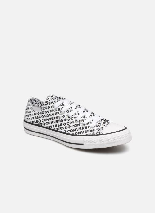 Baskets Converse Chuck Taylor All Star Wordmark 2.0 Ox W Noir vue détail/paire
