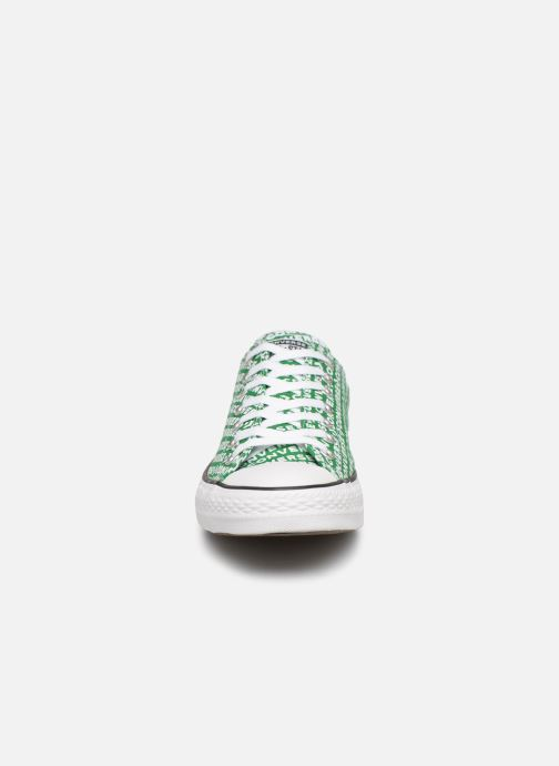 Trainers Converse Chuck Taylor All Star Wordmark 2.0 Ox Green model view