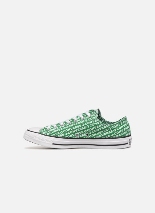 Baskets Converse Chuck Taylor All Star Wordmark 2.0 Ox Vert vue face