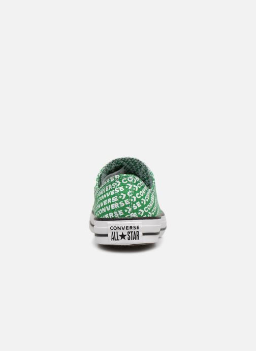 Baskets Converse Chuck Taylor All Star Wordmark 2.0 Ox Vert vue droite