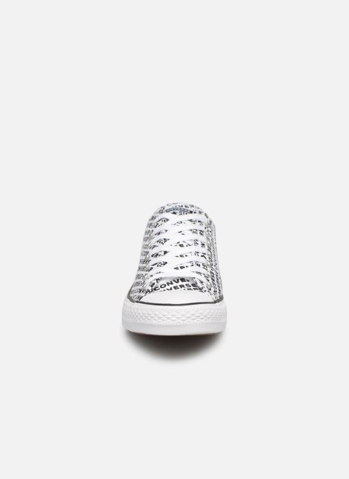 Trainers Converse Chuck Taylor All Star Wordmark 2.0 Ox White model view