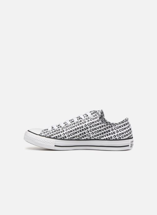 Sneaker Converse Chuck Taylor All Star Wordmark 2.0 Ox weiß ansicht von vorne