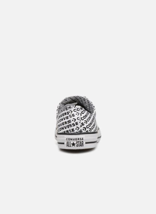 Sneaker Converse Chuck Taylor All Star Wordmark 2.0 Ox weiß ansicht von rechts