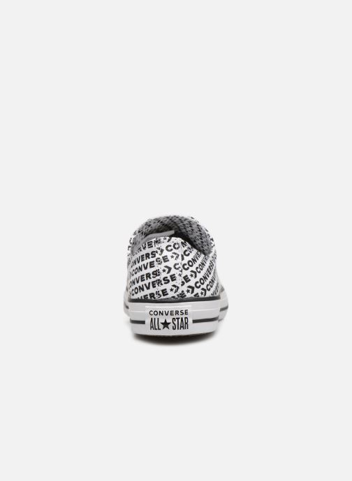 Sneakers Converse Chuck Taylor All Star Wordmark 2.0 Ox Wit rechts