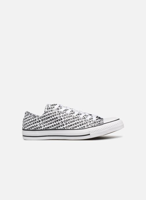 Trainers Converse Chuck Taylor All Star Wordmark 2.0 Ox White back view