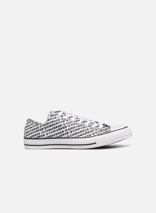 Sneaker Converse Chuck Taylor All Star Wordmark 2.0 Ox weiß ansicht von hinten