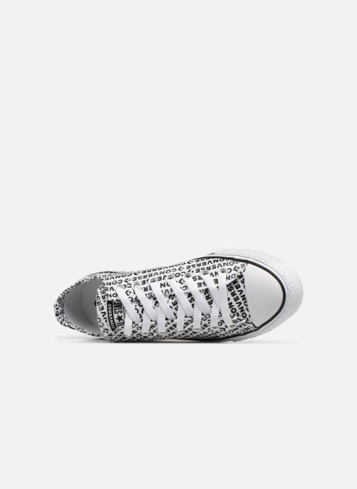 Sneakers Converse Chuck Taylor All Star Wordmark 2.0 Ox Wit links