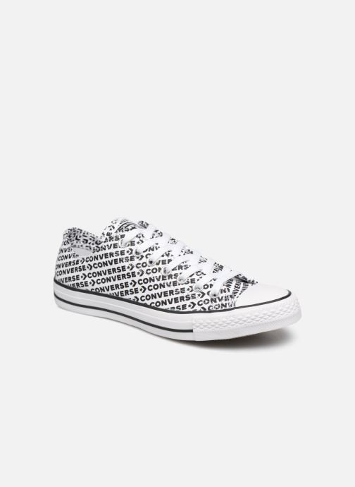 90f3424a9b14c6 Trainers Converse Chuck Taylor All Star Wordmark 2.0 Ox White detailed view   Pair view