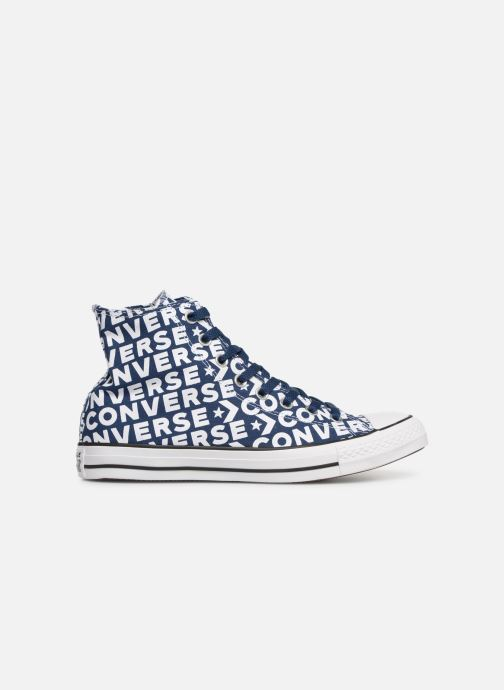 Trainers Converse Chuck Taylor All Star Wordmark 2.0 Hi Blue back view