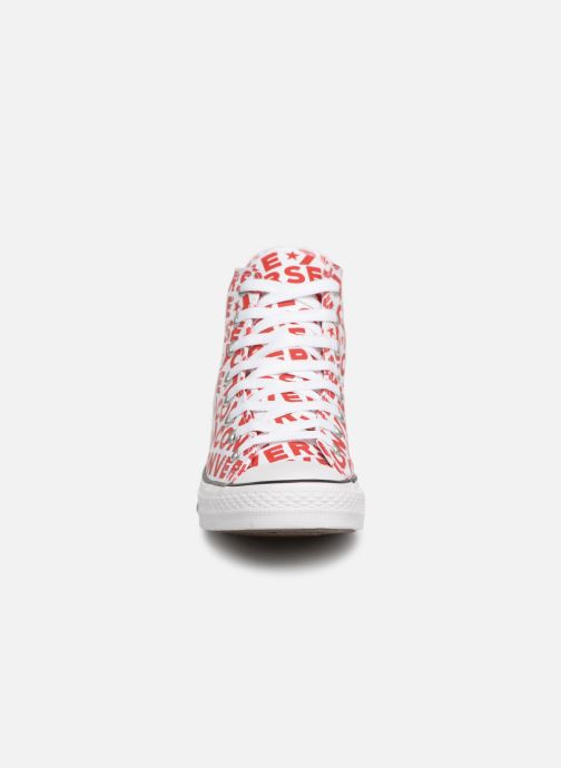 Trainers Converse Chuck Taylor All Star Wordmark 2.0 Hi Red model view