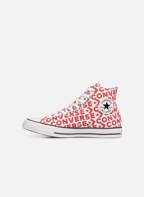 Trainers Converse Chuck Taylor All Star Wordmark 2.0 Hi Red front view
