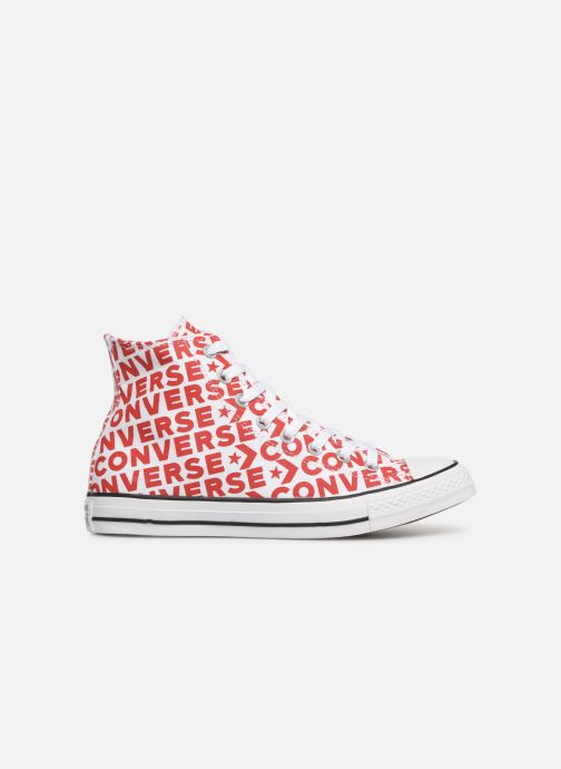 Trainers Converse Chuck Taylor All Star Wordmark 2.0 Hi Red back view
