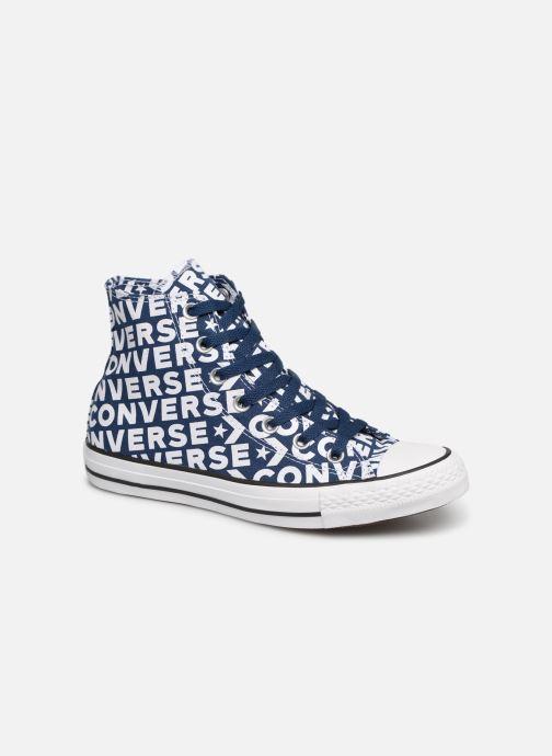 Baskets Converse 2 Wordmark Taylor Bleu Chuck Hi W All 0 Star TrUwqTv