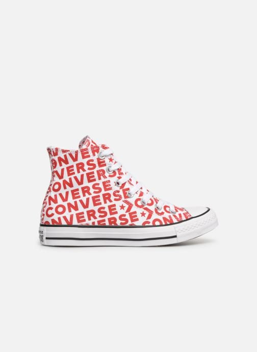 Baskets Hi W 0 Chuck Taylor Converse 2 Wordmark Whiteenamel Star All Redwhite j34RLA5q