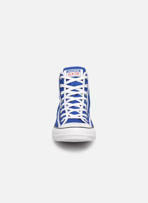 Sneaker Converse Chuck Taylor All Star Gamer Hi blau schuhe getragen