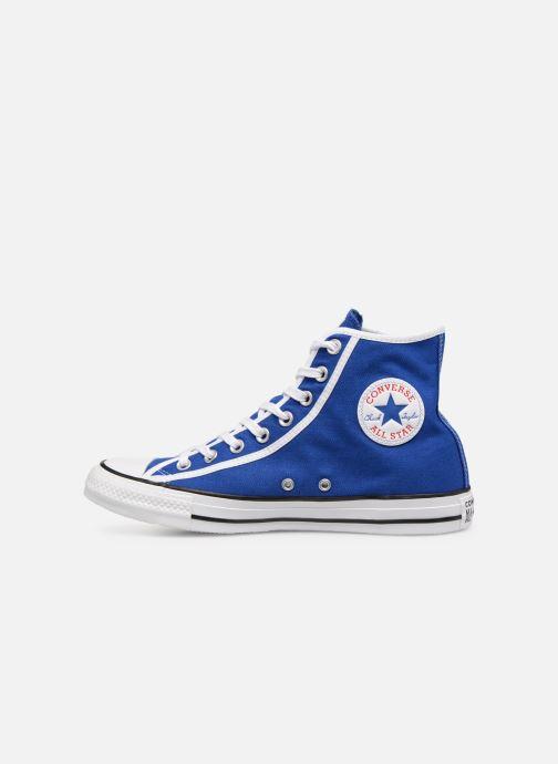 Sneakers Converse Chuck Taylor All Star Gamer Hi Blå bild från framsidan