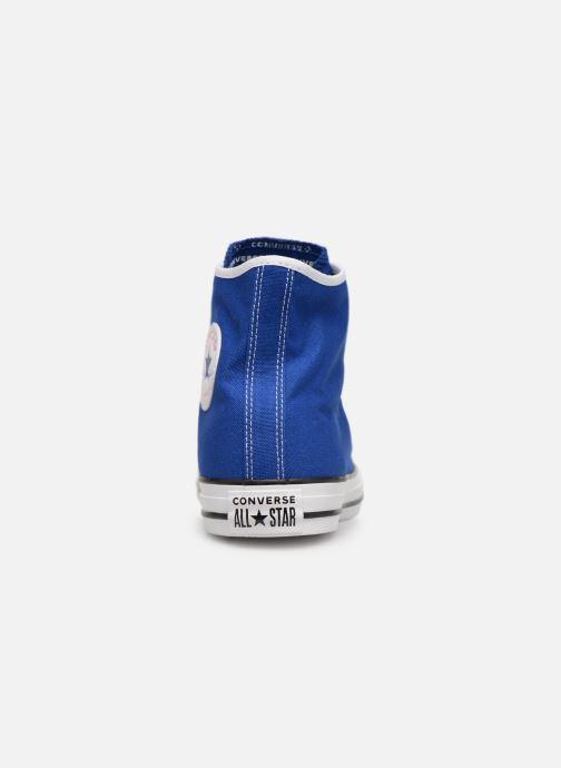 Sneakers Converse Chuck Taylor All Star Gamer Hi Blå Bild från höger sidan