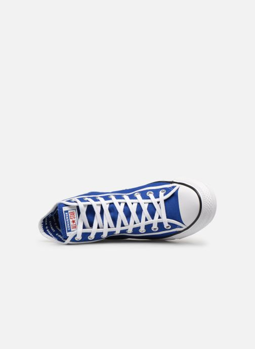 Sneaker Converse Chuck Taylor All Star Gamer Hi blau ansicht von links